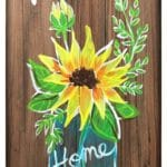 Welcome Spring WOODEN SIGN
