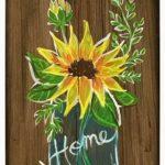 Sunflower WOODEN SIGN
