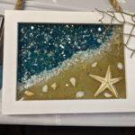 Beach Escape RESIN ART