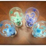 Starfish WINE GLASSES!
